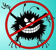 Логотип сайта Вирусы и бактерии