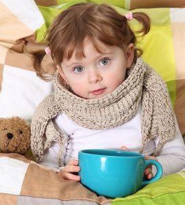 Осложнения орви у детей
